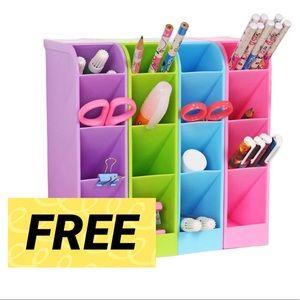 FREE W/ Purchase Desktop Organizer